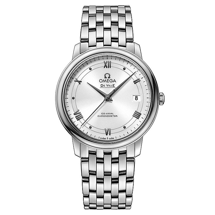 Omega De Ville Prestige Men's Stainless Steel Bracelet Watch - Product number 4981618