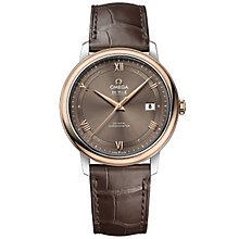 Omega De Ville Prestige Men's Two Colour Strap Watch - Product number 4981642