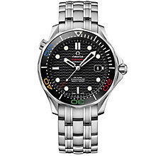 Omega Seamaster Diver Rio 2016 Men's Stainless Steel Watch - Product number 4981669
