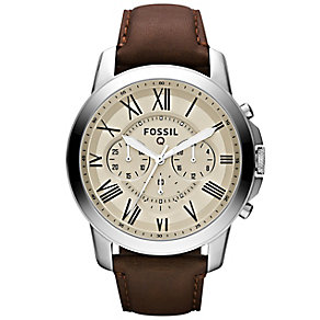 Fossil Q Grant Chronograph Smart Strap Watch - Product number 4981987