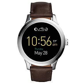 Fossil Q Founder Men's Stainless Steel Smart Strap Watch - Product number 4982037