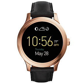 Fossil Q Founder Rose Gold Tone Touchscreen Smart Watch - Product number 4982053