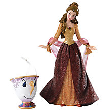 Disney Showcase Christmas Belle & Chip Figurine Set - Product number 4983726