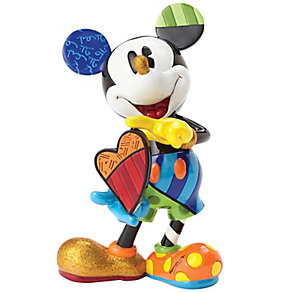 Disney Britto Mickey Mouse With Rotating Heart Figurine - Product number 4983750