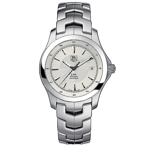 TAG Heuer Link mens stainless steel automatic watch