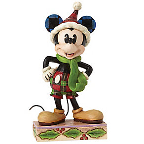 Disney Traditions Merry Mickey Mouse Figurine - Product number 4985567