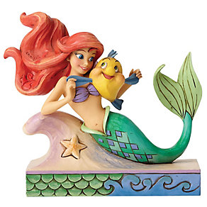 Disney Traditions Ariel With Flounder - Product number 4985664