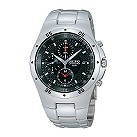 Seiko men's stainless steel chronograph watch - Product number 4986253