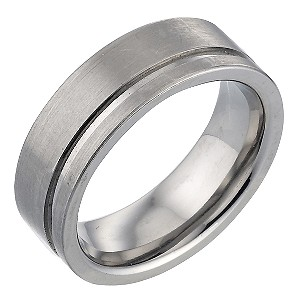 Titanium Single Groove Matt