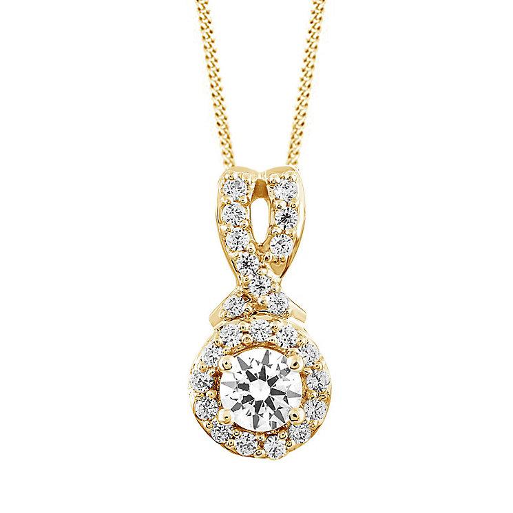 Leo Diamond 18ct Yellow Gold 1/3ct I I1 Diamond Pendant - Product number 4993993