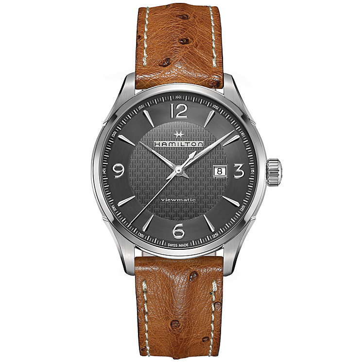 Hamilton Men's Stainless Steel Strap Watch - Product number 4995023