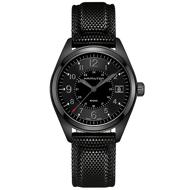 Hamilton Men's Ion Plated Strap Watch - Product number 4995066