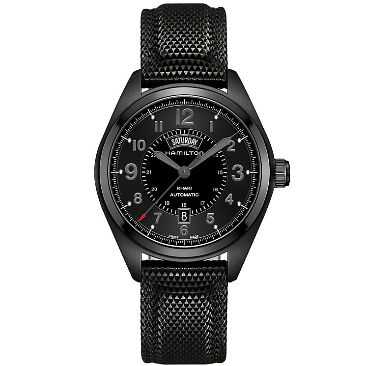 Hamilton Men's Ion Plated Strap Watch - Product number 4995074
