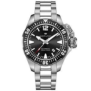 Hamilton Frogman Men's Stainless Steel Bracelet Watch - Product number 4995090