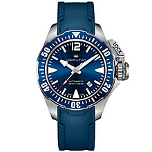 Hamilton Frogman Men's Stainless Steel Strap Watch - Product number 4995120