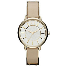Armani Exchange Ladies' Brown Leather Strap Watch - Product number 4998464