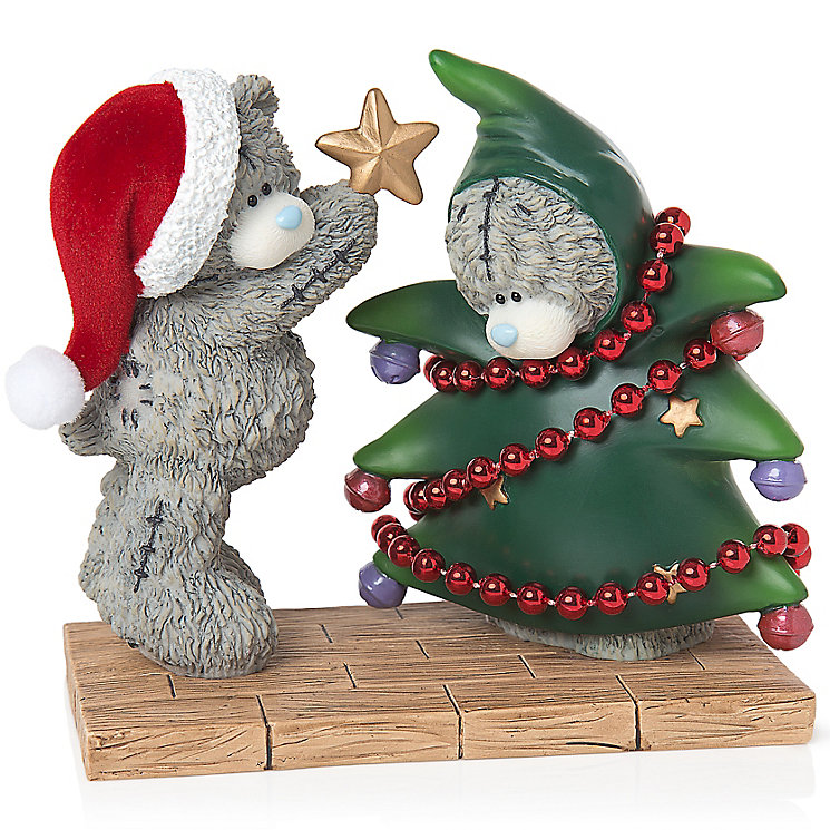 Me to You Dressing The Tree Figurine - Product number 5000548