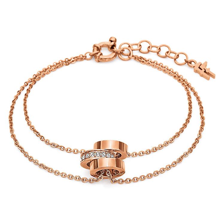 Folli Follie Rose Gold Plated Bracelet - Product number 5000572