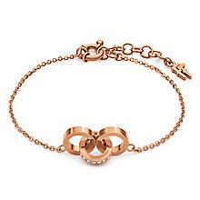 Folli Follie Rose Gold Plated Bracelet - Product number 5000580