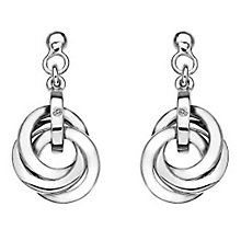 Hot Diamonds Silver Trio Earrings - Product number 5000696