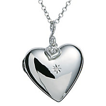 Hot Diamonds Silver Starry Heart Pendant - Product number 5000777