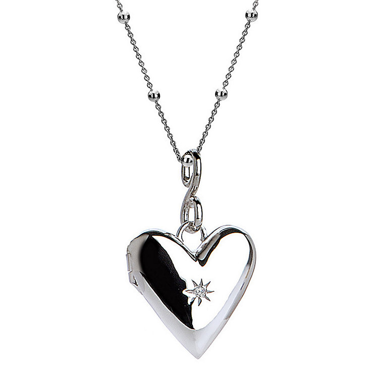 Hot Diamonds Silver Spontaneous Locket - Product number 5000785