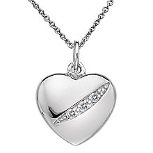 Hot Diamonds Silver Shooting Star Heart Pendant - Product number 5000807