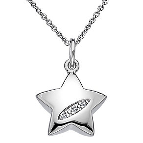Hot Diamonds Silver Shooting Star Pendant - Product number 5000815