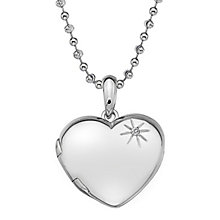 Hot Diamonds Silver Memoir Heart Pendant - Product number 5000823
