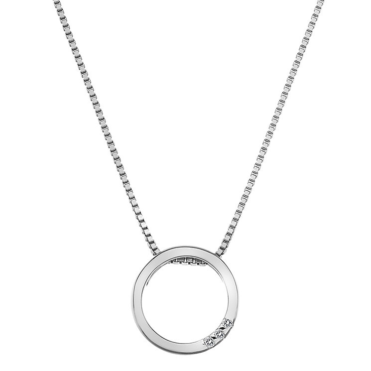 Hot Diamonds Silver Halo Circle Pendant - Product number 5000904