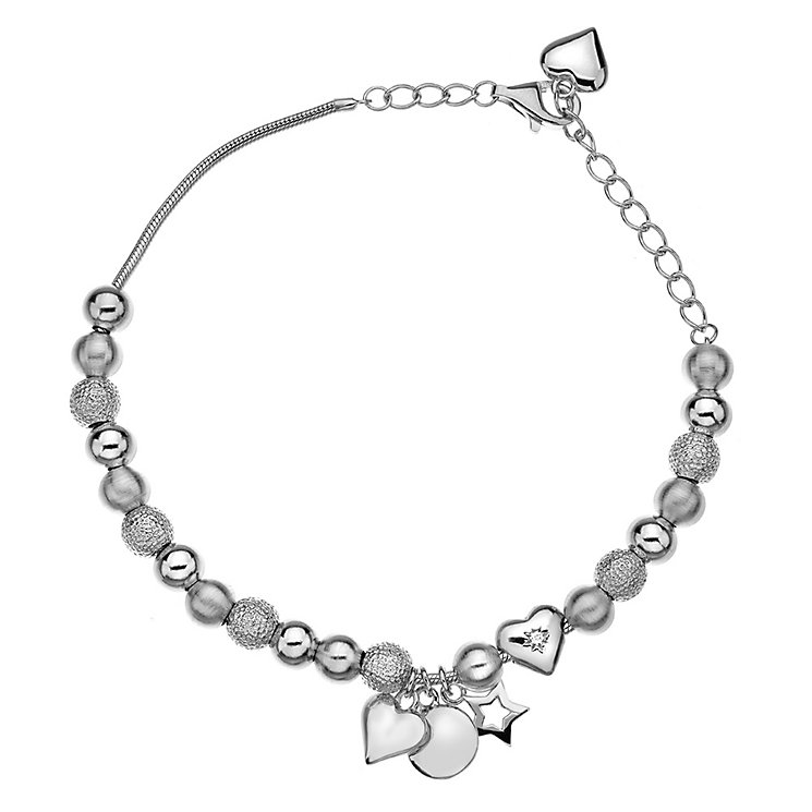 Hot Diamonds Silver Trinket Bracelet - Product number 5001056