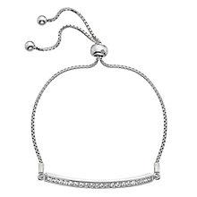 Hot Diamonds Silver Cubic Zirconia Bracelet - Product number 5001080