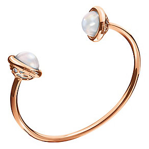 Folli Follie Rose Gold Plated Bangle - Product number 5001196