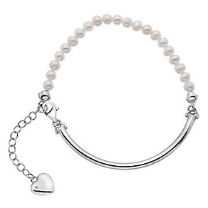 Hot Diamonds Silver Mother of Pearl 4mm Bracelet - Product number 5001714