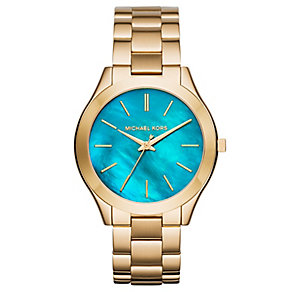 Micheal Kors Ladies' Gold Tone Bracelet Watch - Product number 5004659