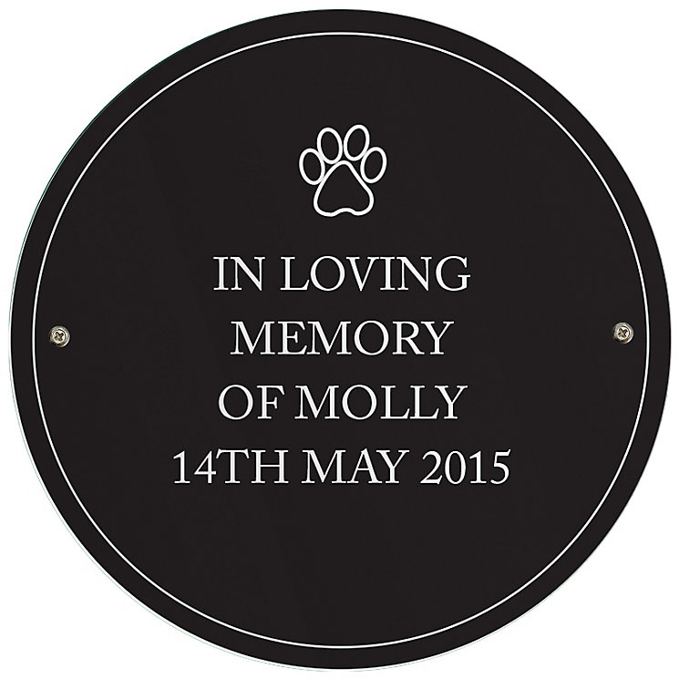 Personalised Paw Prints Pet Sign - Product number 5004713