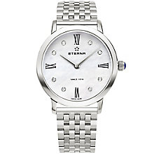 Eterna Ladies' Eternity Stainless Steel Bracelet Watch - Product number 5004861