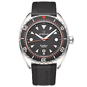 Eterna Men's Super KonTiki Stainless Steel Strap Watch - Product number 5004950
