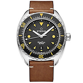 Eterna Men's Super KonTiki Stainless Steel Strap Watch - Product number 5004969