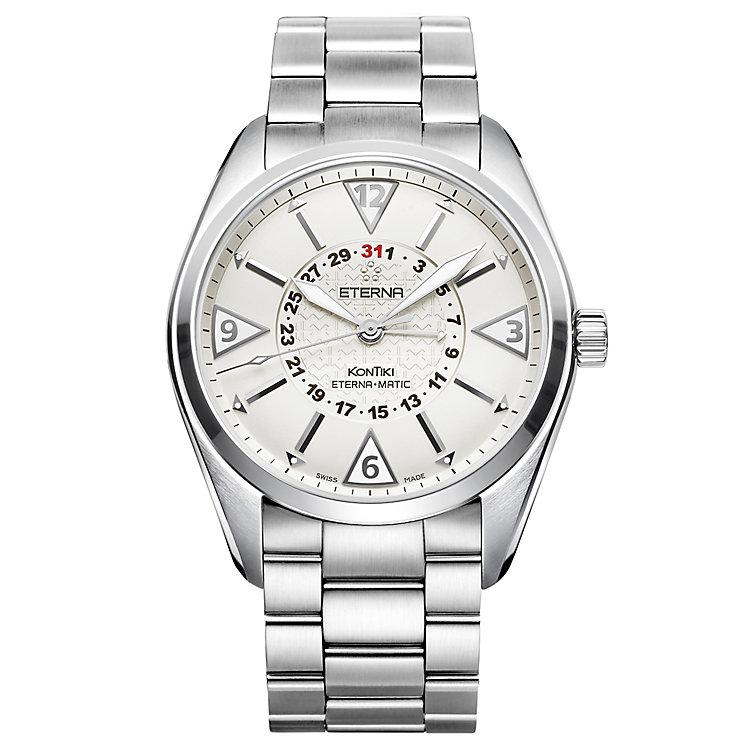 Eterna Men's KonTiki Stainless Steel Bracelet Watch - Product number 5004977