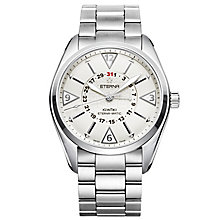 Eterna Men's KonTiki Stainless Steel Bracelet Watch - Product number 5004977