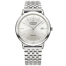 Eterna Men's Eternity Stainless Steel Bracelet Watch - Product number 5005027