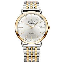 Eterna Men's Eternity Two Colour Bracelet Watch - Product number 5005035