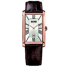 Hugo Boss Men's Rose Gold Tone Strap Watch - Product number 5006953