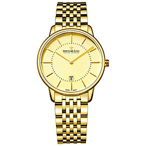 Dreyfuss & Co Ladies' Gold Plated Bracelet Watch - Product number 5007402