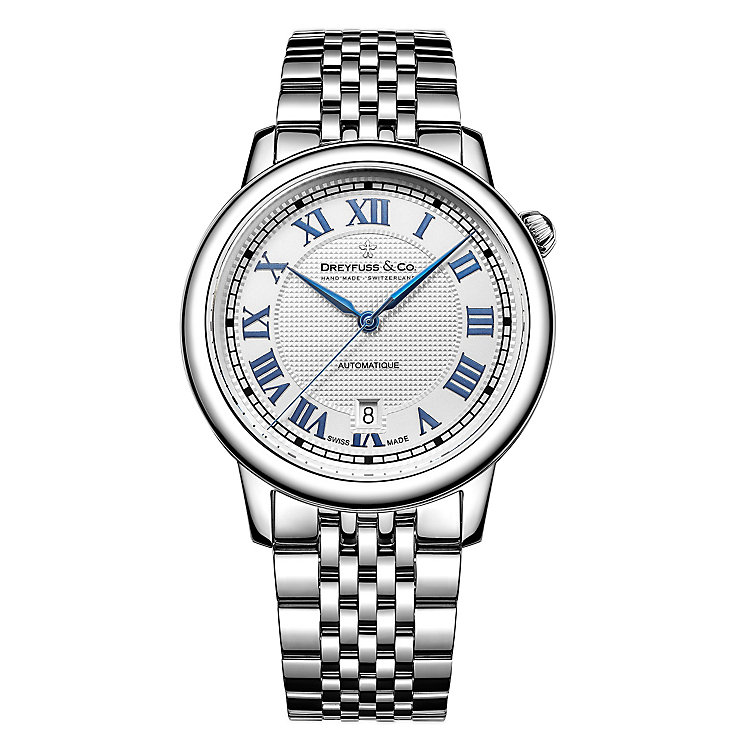 Dreyfuss & Co 1925 Men's Stainless Steel Strap Watch - Product number 5007453