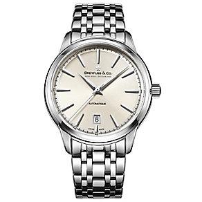 Dreyfuss & Co 1890 Men's Stainless Steel Bracelet Watch - Product number 5007518