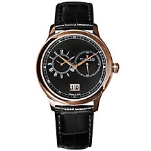 Dreyfuss & Co Men's Rose Gold Plated Strap Watch - Product number 5007526