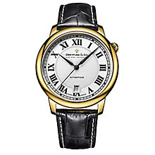Dreyfuss & Co 1925 Men's Gold Plated Strap Watch - Product number 5007550