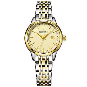 Dreyfuss & Co 1890 Men's Two Colour Bracelet Watch - Product number 5007615